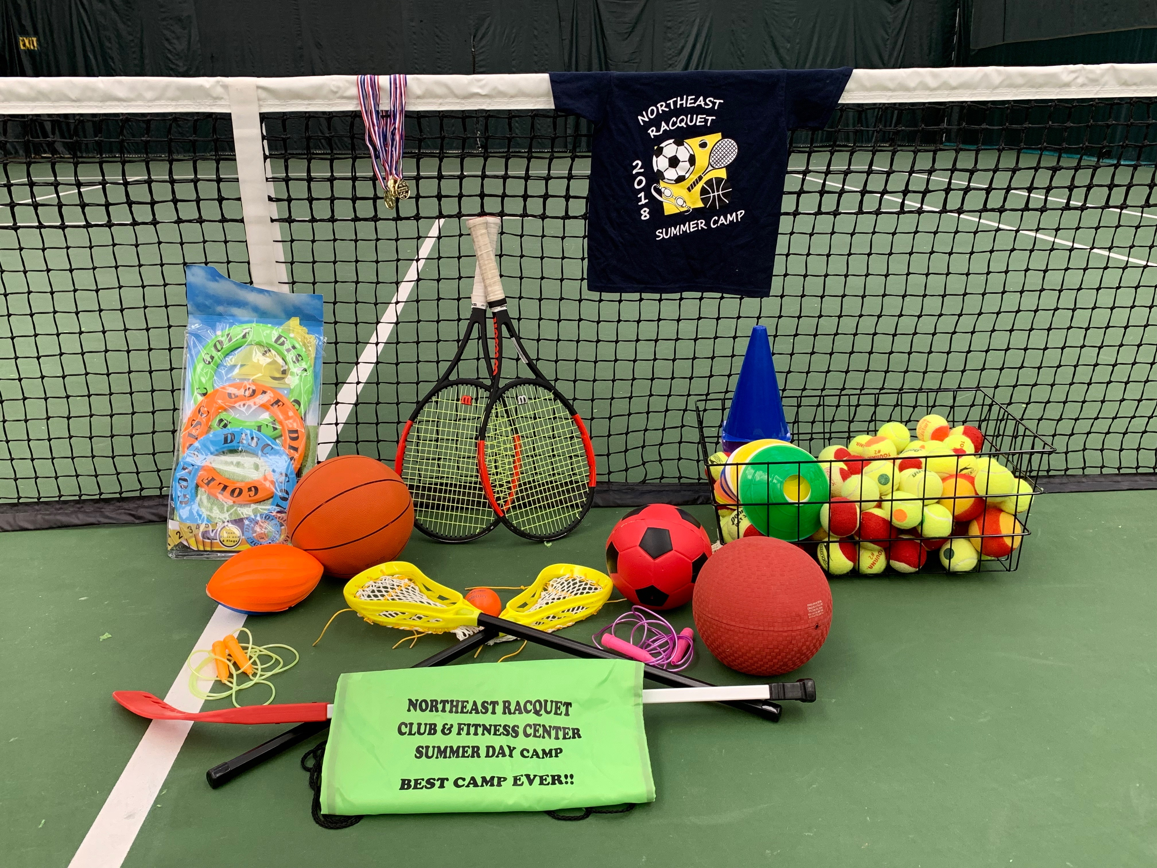 picture regarding Have a Ball This Summer Printable titled Summer months Camp - Northeast Racquet Club Exercise Centre